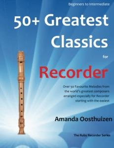recorder easy classics BookCoverImage