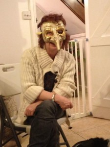 mand scary mask